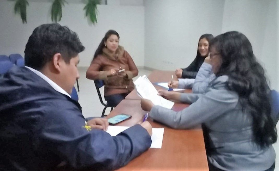 Preparativos para el CAMPEONATO INTER COLEGIOS PROFESIONALES CUSCO 2019