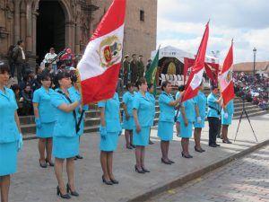Desfile por el Día del Enfermero
