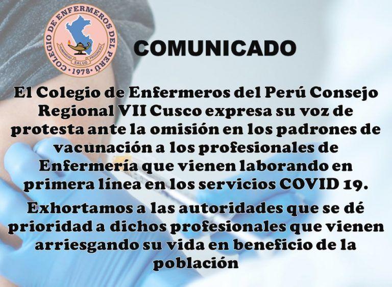 ComunicadoCovid
